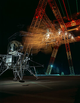 KEEP IN FLIGHT    Lunar Landing night sequence (Langley),  1967   Archival pigment print 23 x 17.75 inches Retail: $500   Learn More