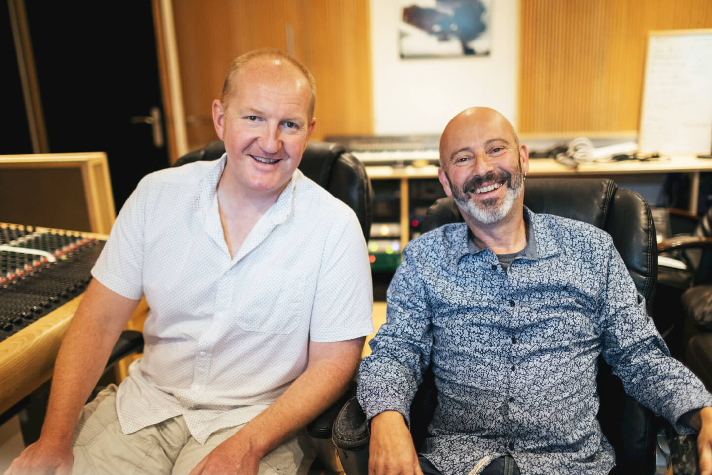 Who we are - What a Voice is the partnership of Nick Moorbath, a sound engineer with over 25 years in the business and Alex Babic, an established voice over and actor.
