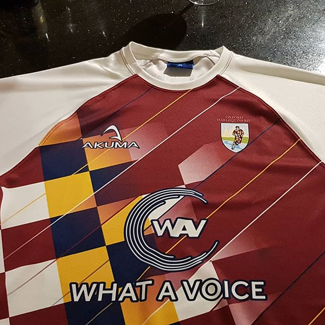 Rugby jerseys ready for tour this weekend!!!! #voiceover #vo #voicereels #whatavoiceuk  #rugbyfamily #rugby