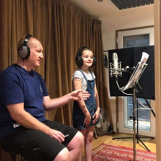 Another fab artist recording her #voicereel with us. Well done Sophia!