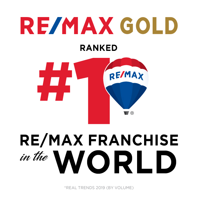 re/max gold is #1 in the world -