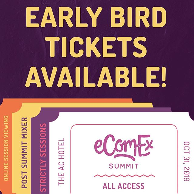 One of the benefits of being an early adapters is getting the product at a lower price point. So, before the crowd swoops in, how about you head over to www.ecomexsummit.com to get all the information you need to make the call and get your early bird ticket ticket today.  #eComExSummit2019 #PoweredbyBraataBox #Jamaicanmade