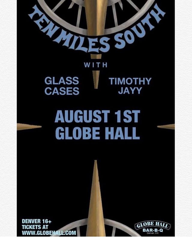 So excited to announce I will be playing @globehalldenver with @tenmilessouth and @glasscasesband next Thursday! DM me for presale tickets!  #denver #denvermusic #livemusic #popmusic #coloradomusicscene #bbq