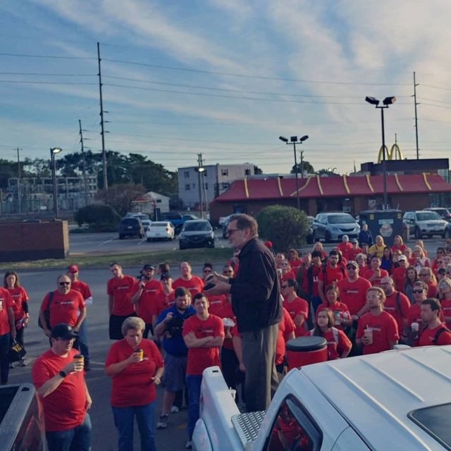 Eli Lilly Project gathered this morning, such an exciting view!