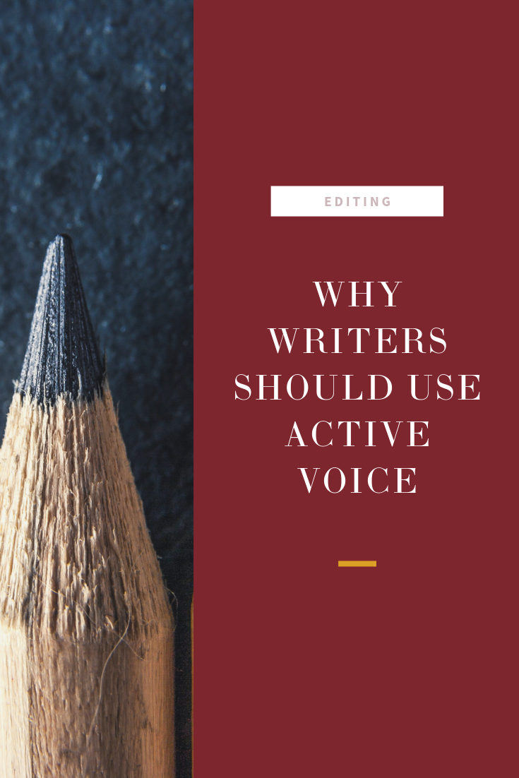 Do you know the difference between active and passive voice? Here's the difference and why you should use active voice.