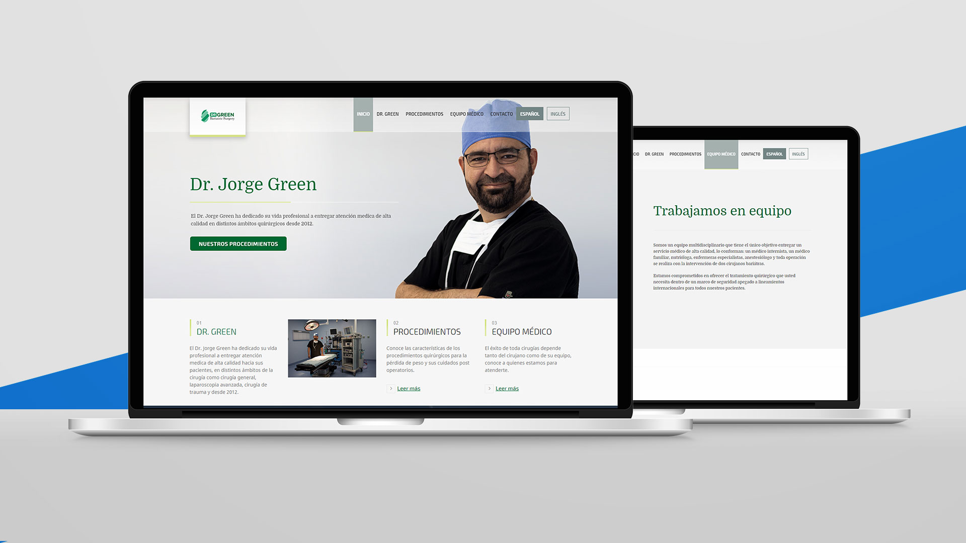 Dr. Jorge Green - Desarrollo Web - Social Media