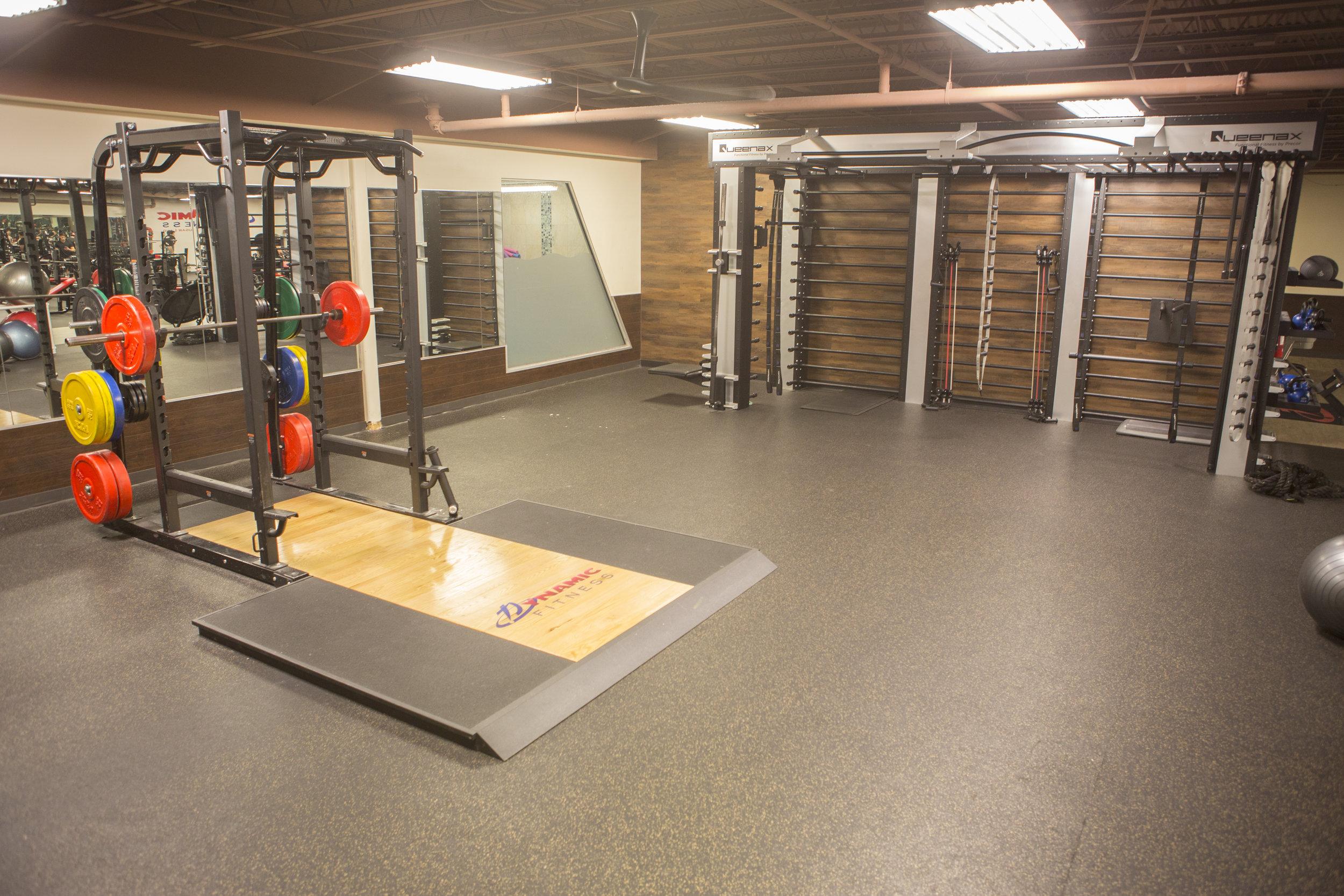 Power Racks and Functional Training