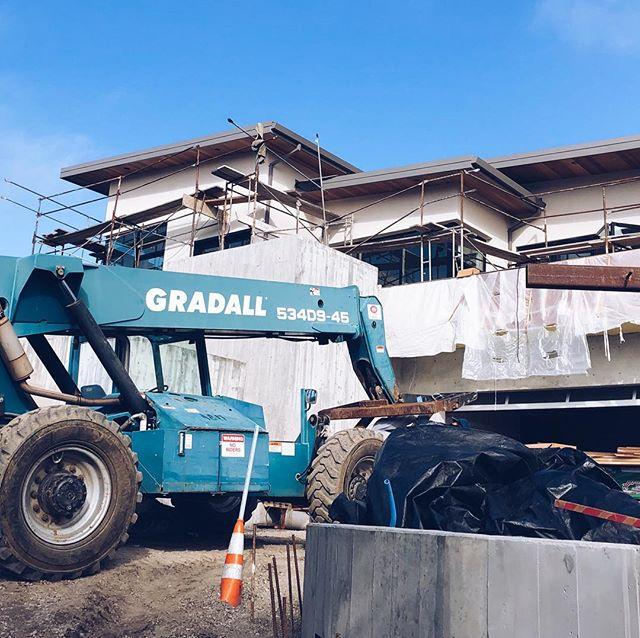 Belmont house construction progress #sunnyhillsstudio #oaklandarchitects #underconstruction