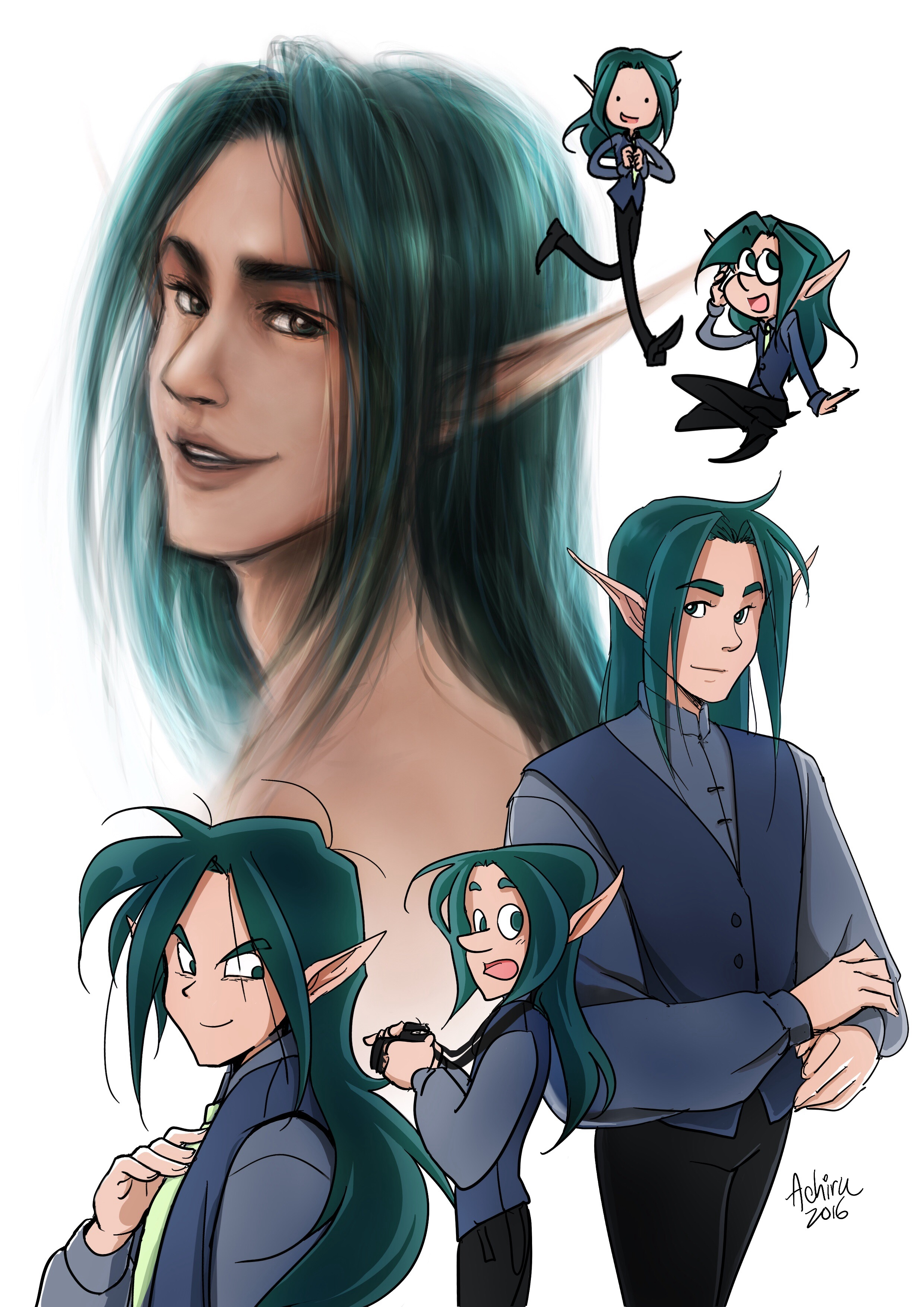 This is kaelim - He's Ria's first husband and also dead. He plays Zephyr in the Myth of Eros and Psyche.