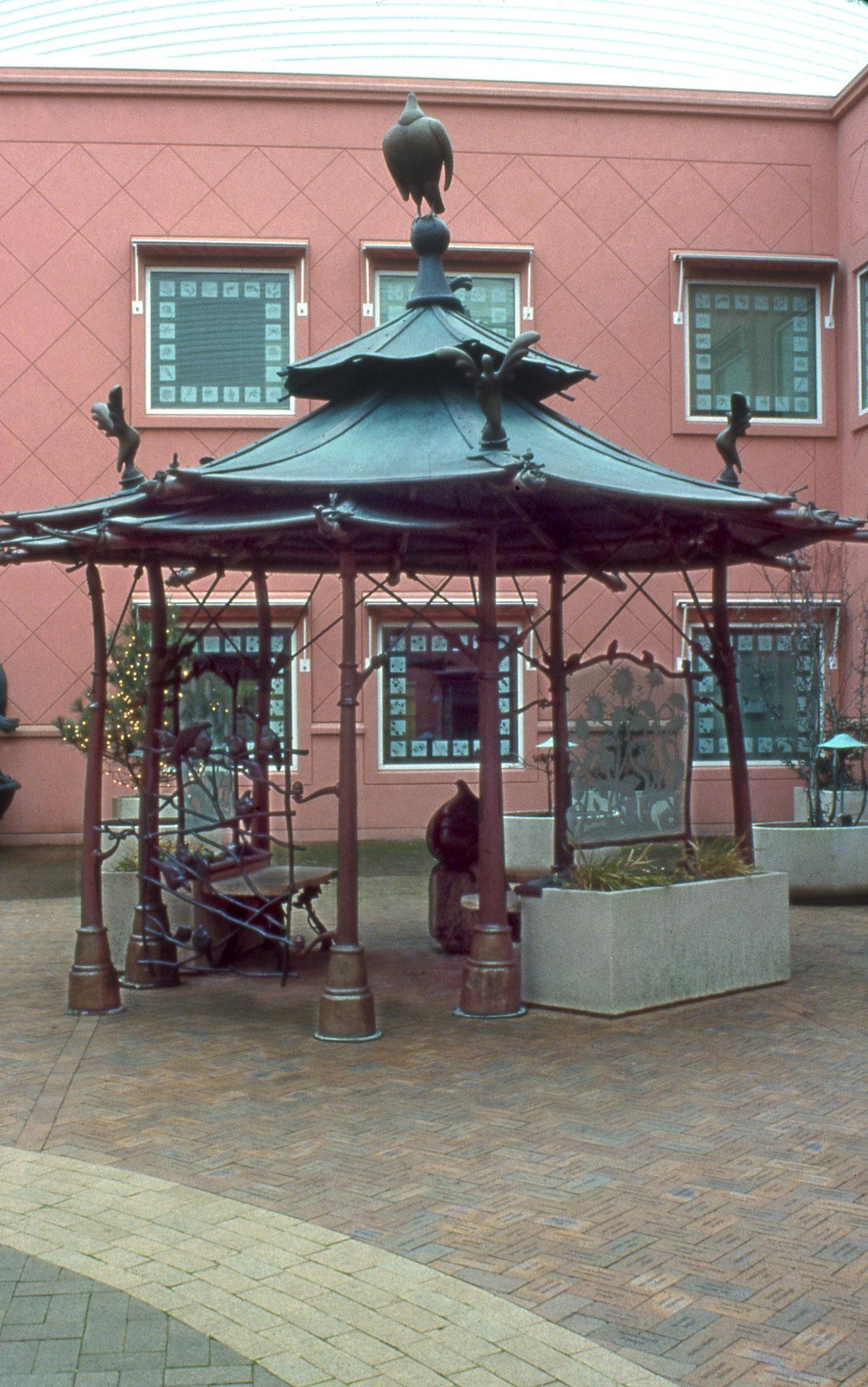 Buddha Bird pavilion