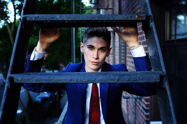 🏙 Taken by the incredibly talented @alannahhhxx wearing @bindleandkeep . . . . . . . #tomboystyle #queerfashion #queerstyle #fashion #suitgame #suit #suitstyle #bespoke #lgbtqia #makeportraits #dapper #dappered #androgyny #androgynousfashion #androgynous #fashionblogger #genderqueer #gqstyle #nonbinary #queer #lifestylebloggers #oneofthem #ootd #pursuitofportraits #aovportraits