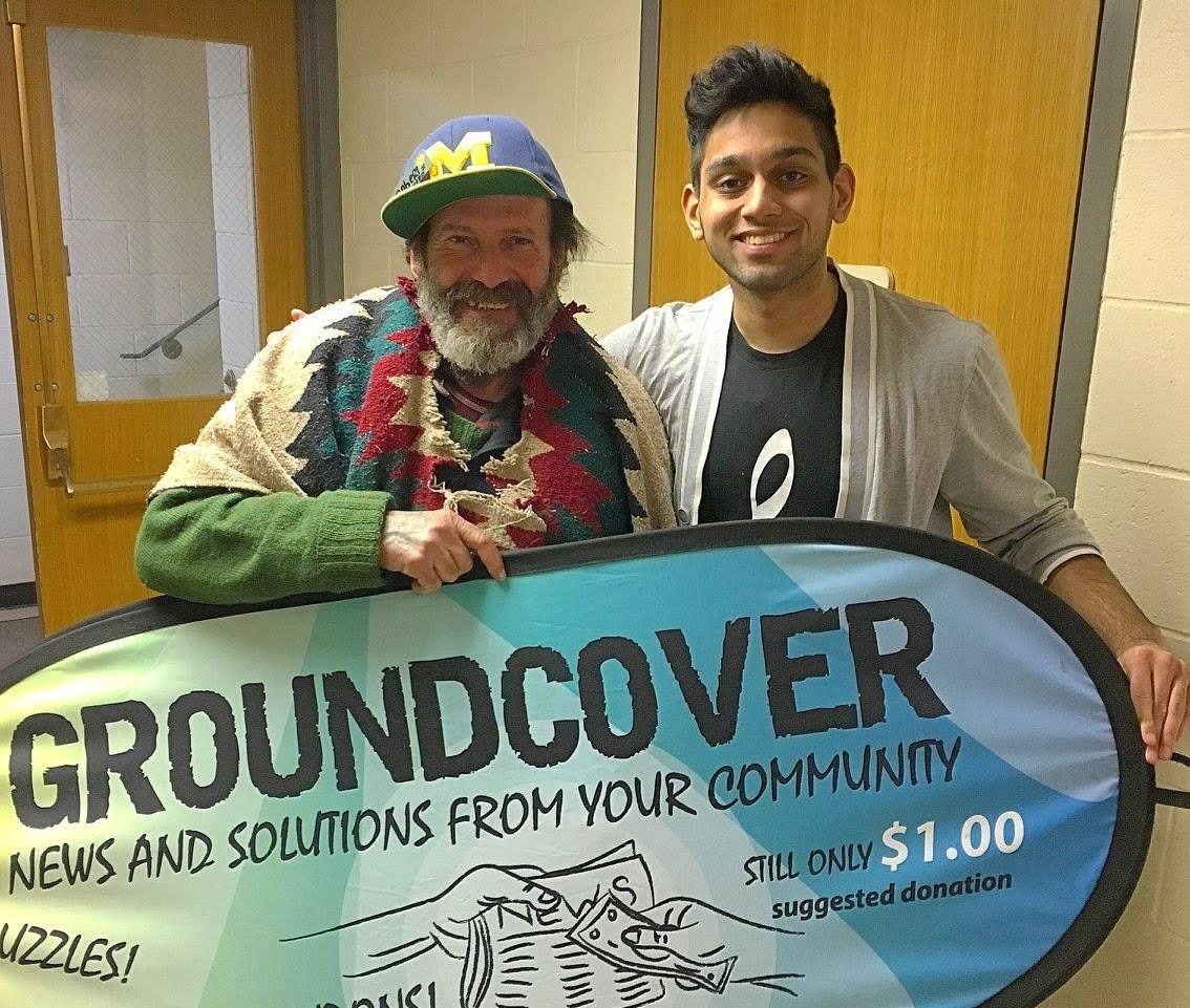It all started when... - Hussain Ali, a freshman at the University of Michigan, immediately recognized how apparent, yet overlooked chronic homelessness was in Ann Arbor. He, like so many others, knew Ann Arbor to be a wealthy city with resources, innovative minds, and opportunity.After searching all U-M organizations and seeing that not one focused on homelessness, he founded the student organization, Michigan Is My Home (MIMH).With the help of Payton Watt, Hussain and Payton established Michigan Is My Home 501 (c)(3).