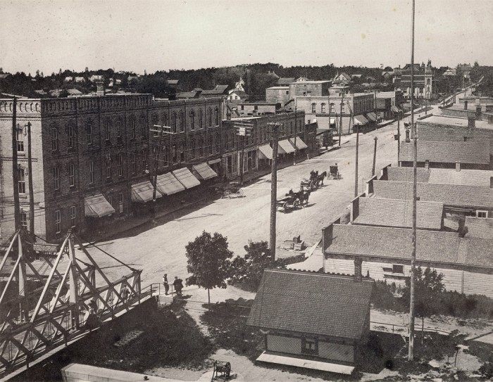 Colborne Street looking North circa 1890's
