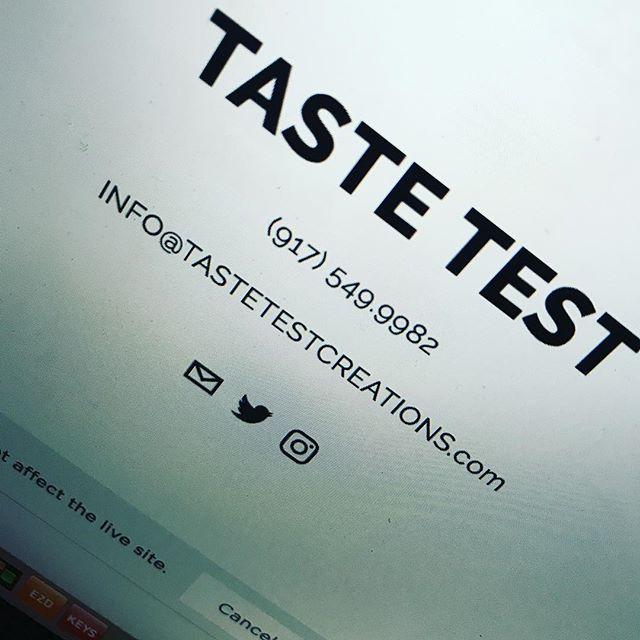 New TasteTest website coming soon!