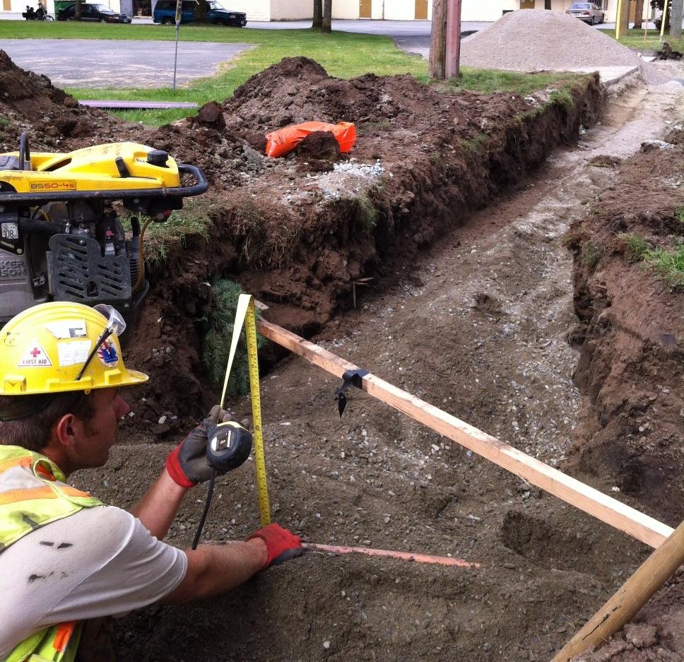B&B Contracting - Trench Construction Worker - Excavation Contractors Surrey.JPG