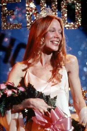 Sissy Spacek as Brian DePalmas' Carrie