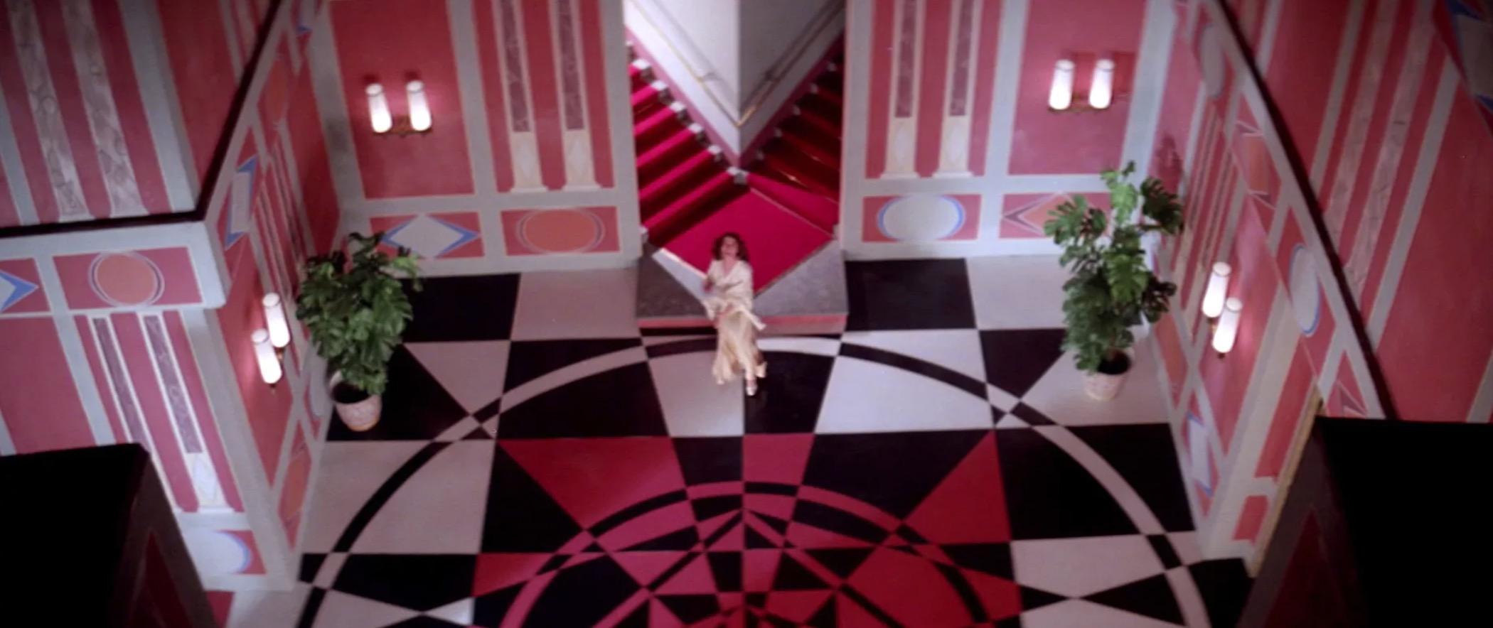 Dario Argento's 1977 Suspiria, a horror masterpiece.