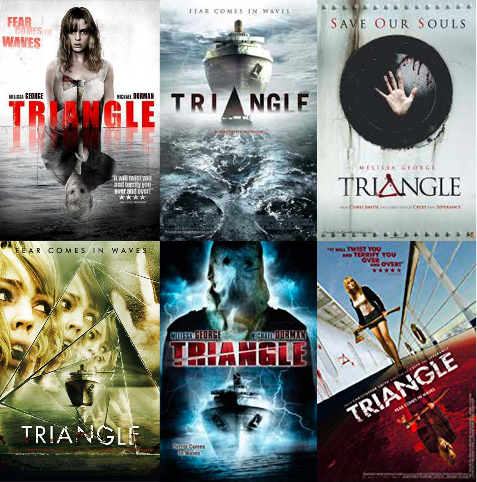 Triangle 2009 movie posters