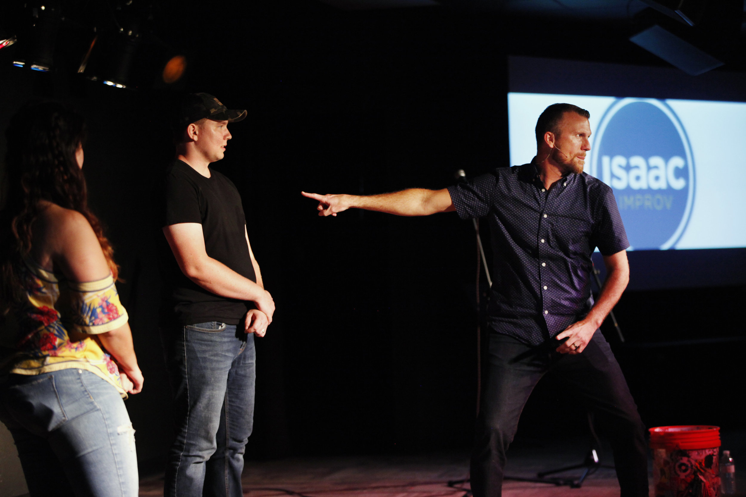 Since 2001 - Isaac Improv has existed to provide quality, clean entertainment for folks that want an added element of comedy to their events. From conferences and camps to banquets and game shows, Isaac Improv has seen it all.