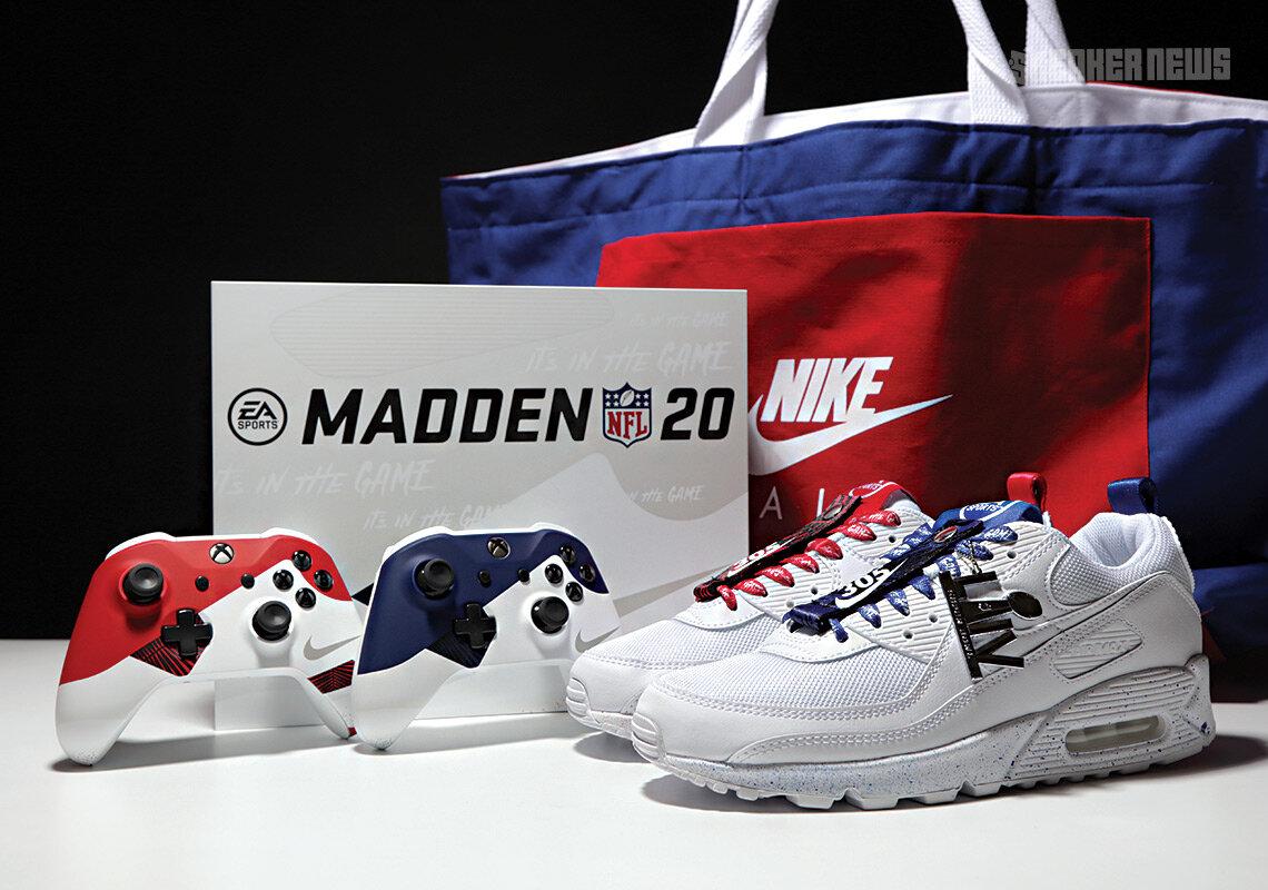 NIKE EA SPORTS MADDEN NFL - CUSTOMIZED AIR MAX 90s — PGF