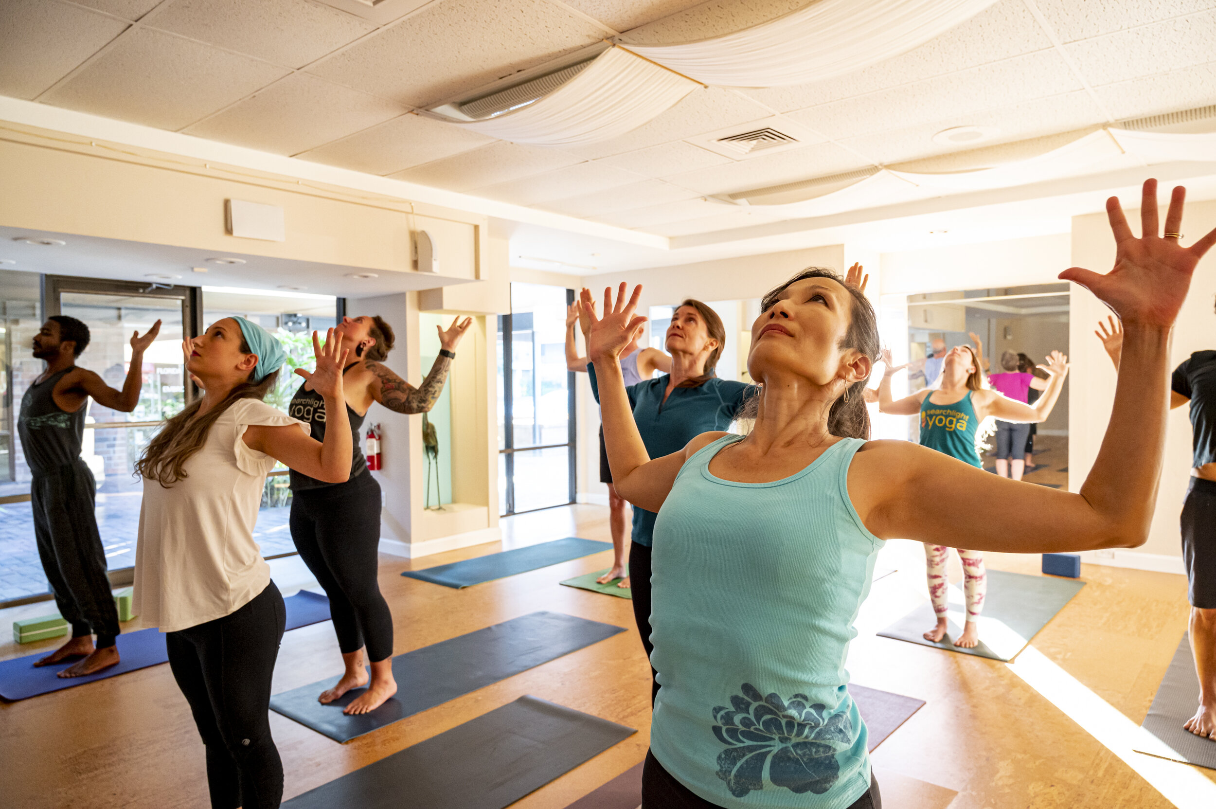 Find Your Class Searchlight Yoga