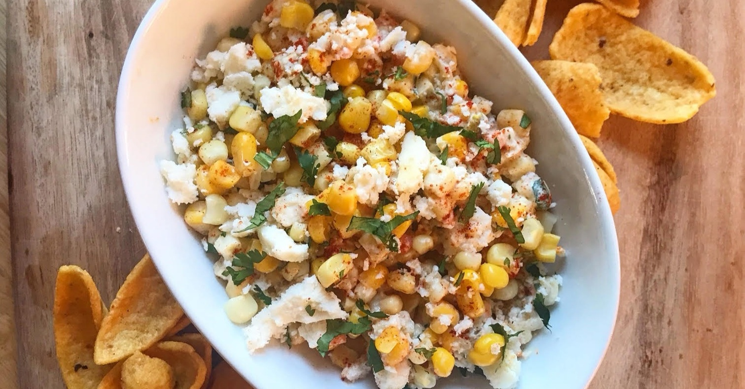 Mexican Street Corn Dip - Ingredients1 Cup Drained Corn3 Tbsp Spicy Pickle Dip1/3 Cup Chopped Cilantro1/4 teaspoon Cumin1/3 Cup Crumbled Queso FrescaCorn Chips for DippingInstructionsMix together corn, Spicy Pickle Dip, cilantro and cumin and stir until well combined. Spoon into serving bowl and top with crumbled queso fresca. Use corn chips for dipping.