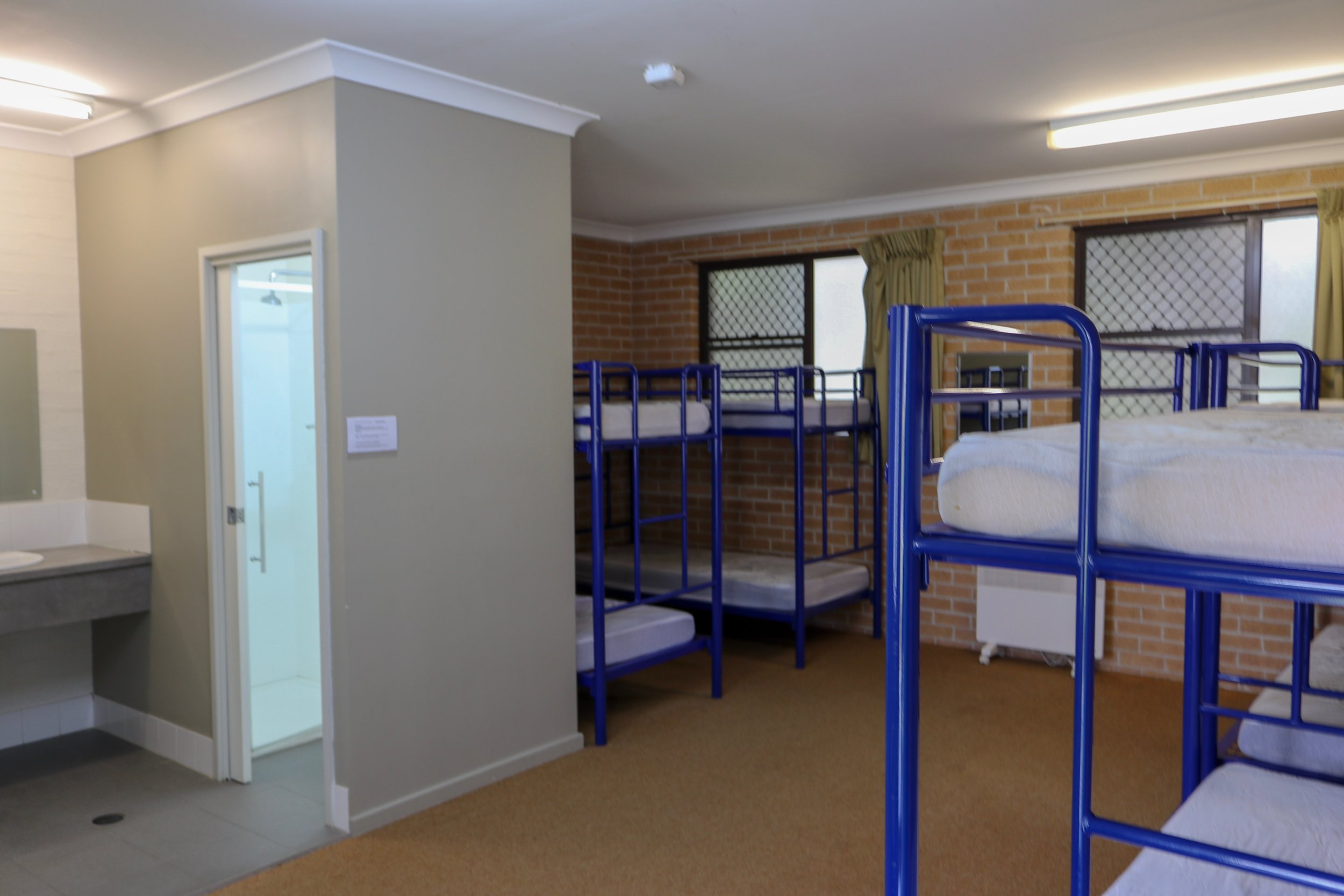 Chittick Lodge bunk room with ensuite