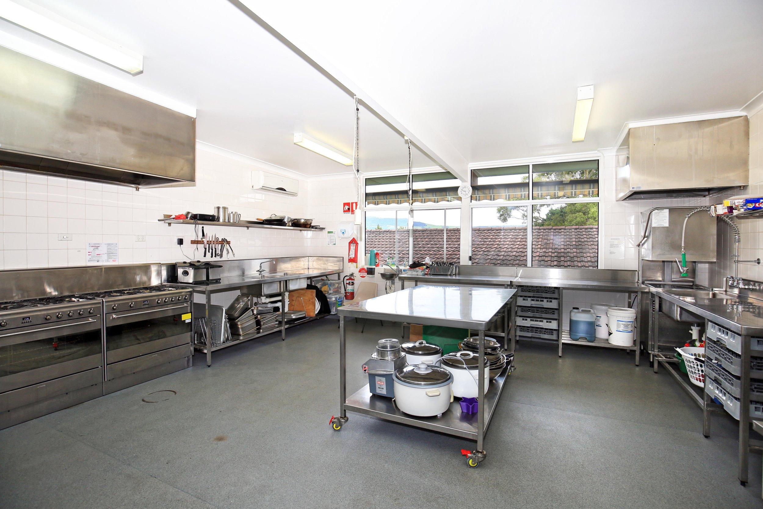 Chittick Lodge kitchen