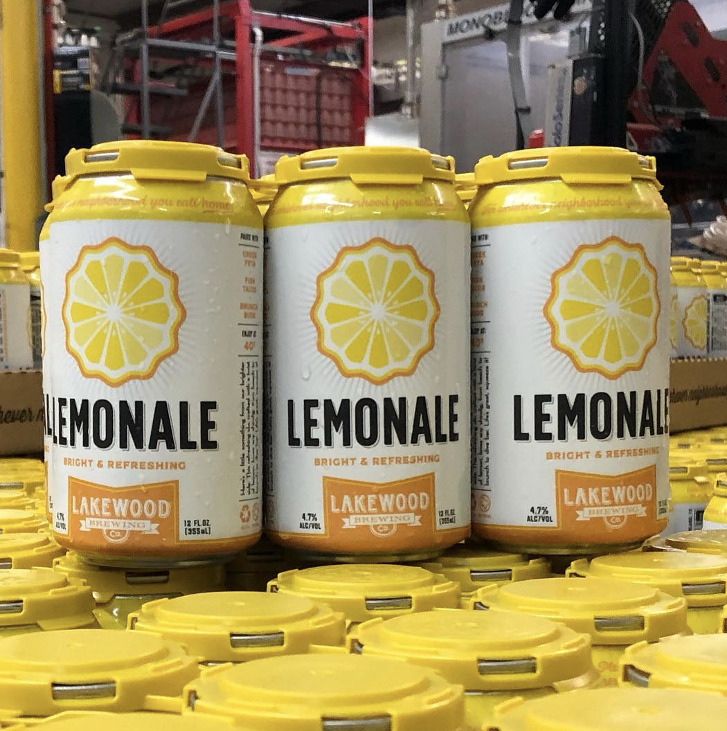 Lemonale | Lakewood Brewing - As bright as a sunny spring afternoon, the Lemonale is Lakewood's newest brew to join their year-round line-up. From them lemon-forward flavoring to the 4.7% abv, it's all about keeping things light. Supremely sessionable, the Lemonale is quite literally made for this.