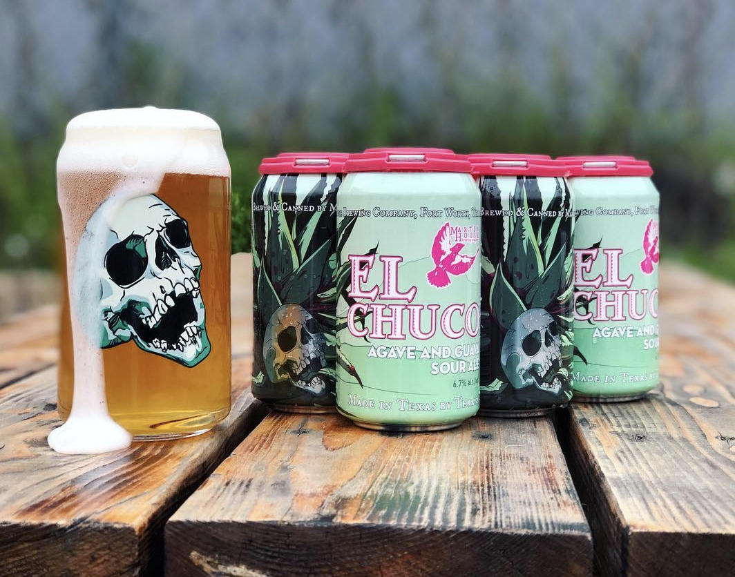 El Chuco | Martin House Brewing - We're always down for a trip to Fort Worth to hang out at Martin House, but fortunately, we don't have to drive very far to get El Chuco, their 6.7% agave and guava sour. That being said, we would drive all the way to El Paso to get that incredible pint glass.