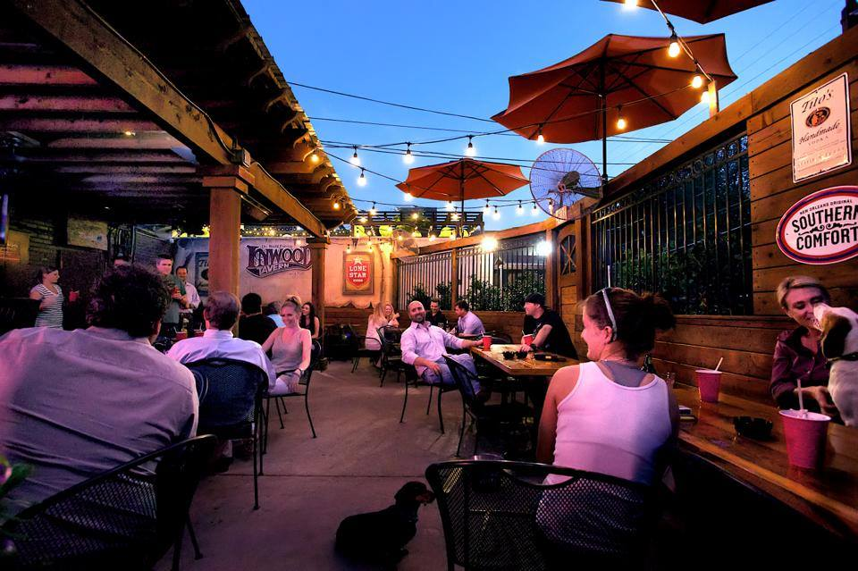 Inwood Tavern - Of course one of the oldest dive bars in Dallas has a summer-worthy outdoor patio. Besides the rich history and *solid* food menu, it's pretty much a fact that cocktails taste better on a cute patio with glowing string lights. (7717 Inwood Road)