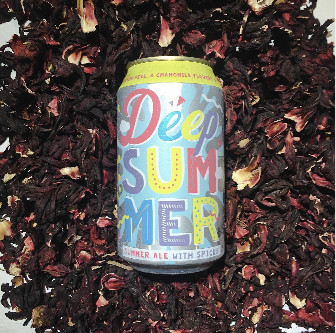 Deep Summer | Deep Ellum Brewing Co. - With flavors coming from hibiscus, lemon peel, and chamomile flowers, the Deep Summer ale from DEBC is going to have just the right amount of pep to its step that'll keep you from falling into a sun-induced stupor.