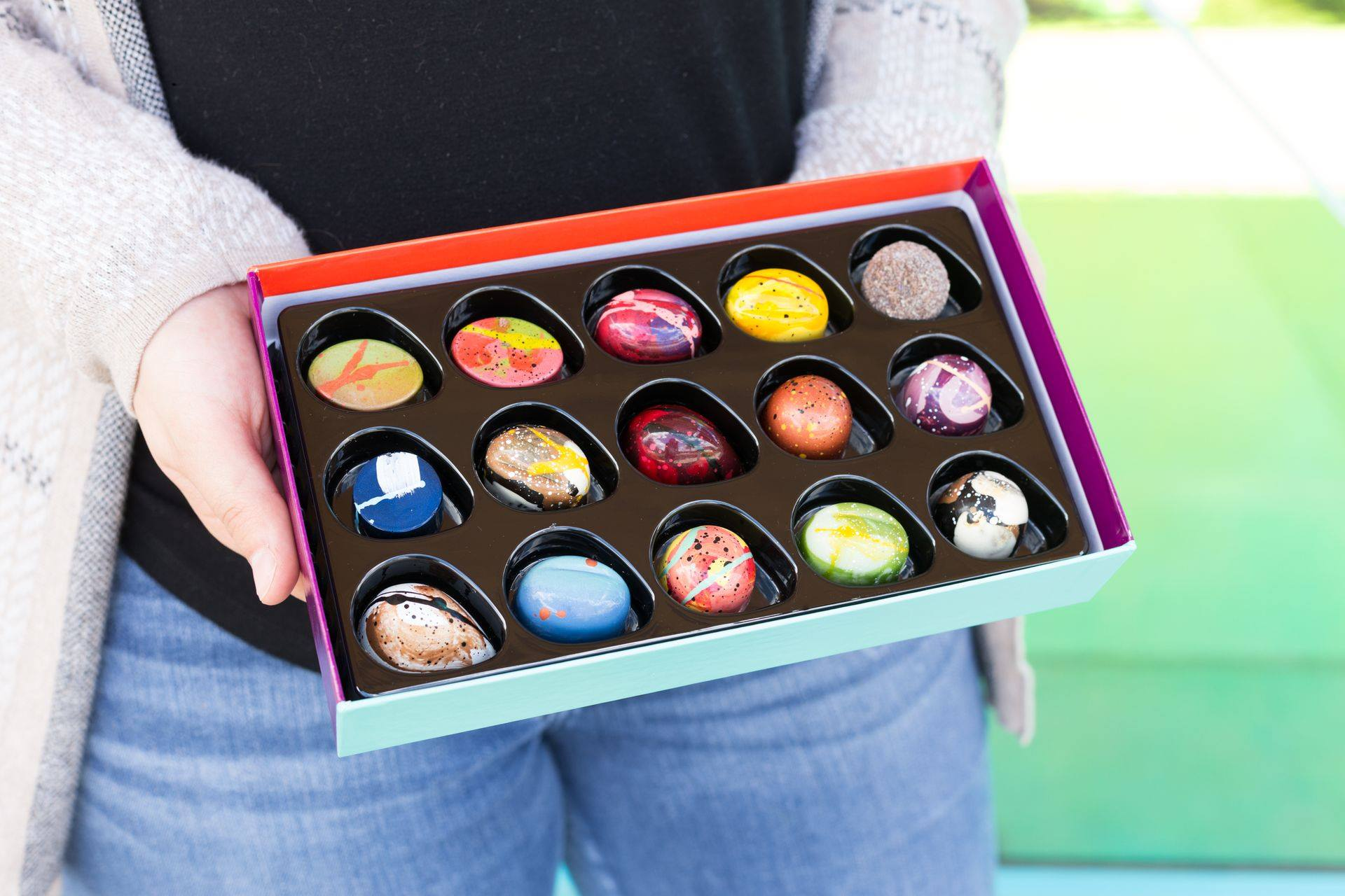 Kate Weiser Chocolate - If you're at Cake Bar, then you only need to go next door to see Kate Weiser's inventive and delicious bon bons. With dozens of flavors, you'll want to grab a box or two plus some macarons. (3011 Gulden Ln, Ste. 115) (Photo: Kate Weiser Chocolate)
