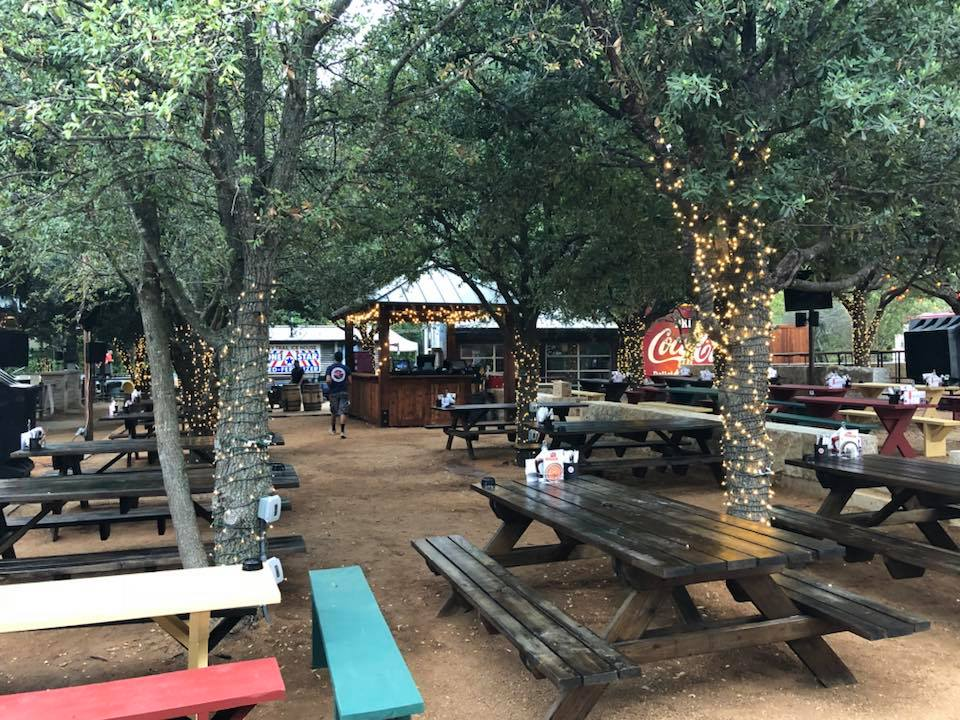 Drinks in a backyard sounds like a good way to wind down the weekend. (Photo:  Katy Trail Ice House/Facebook )