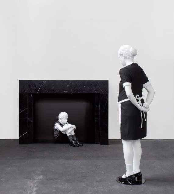 Elmgreen & Dragset: Sculptures  ( Photo: Nasher Sculpture Center )