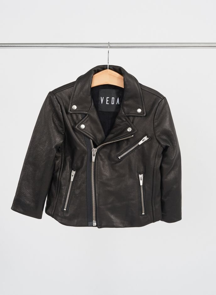 Forty Five Ten Veda Boone Jacket ($398) - Always a classic option for cooler weather, this leather jacket comes in a slightly cropped cut for layering it over anything and everything. Pro tip: balance out the biker look with a femme floral or jewel tone.