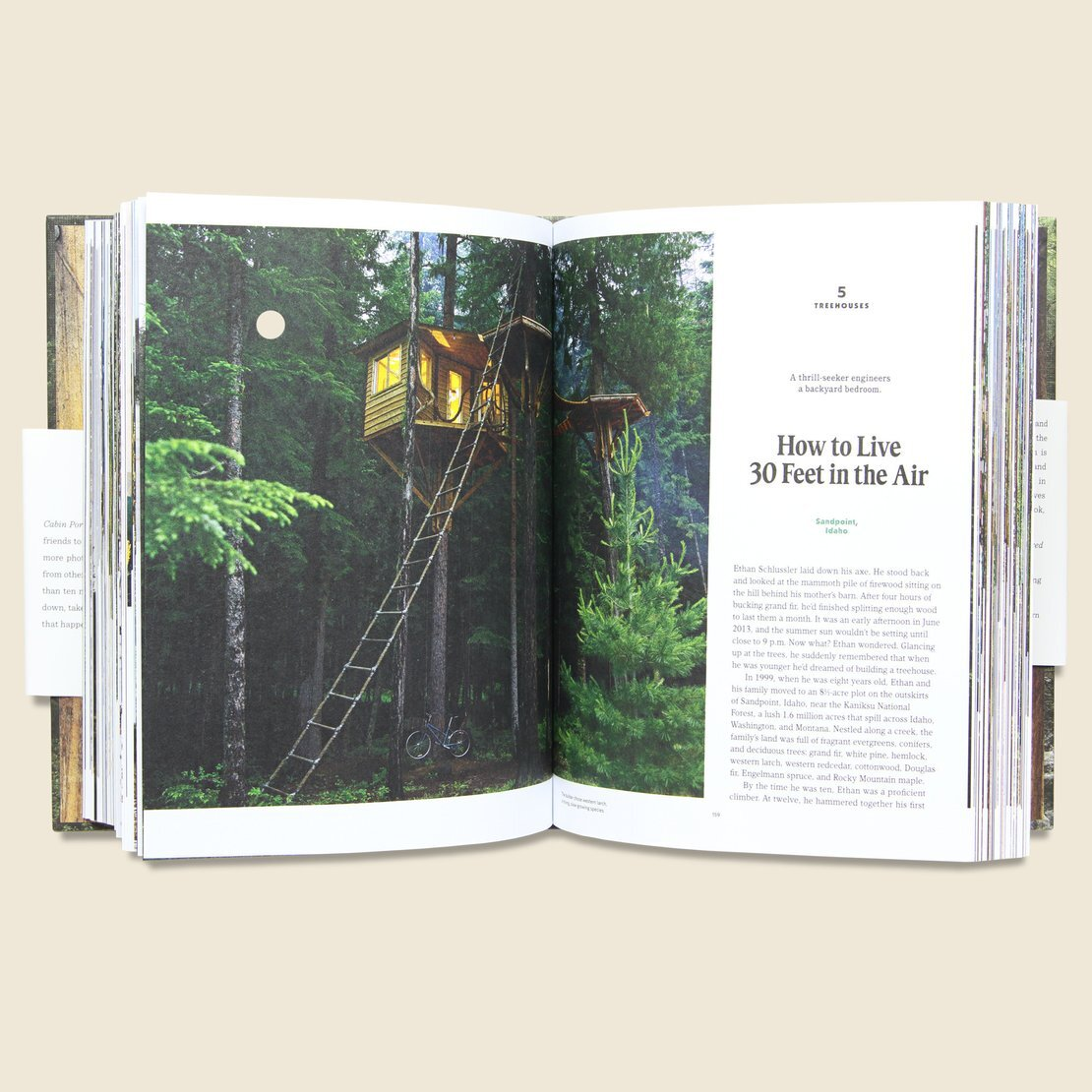 Stag Provisions Cabin Porn Book ($30) - Can't make it out of town for an Airbnb cabin weekend? This wanderlust-filled book from Knox-Henderson's STAG is pretty much the next best thing.