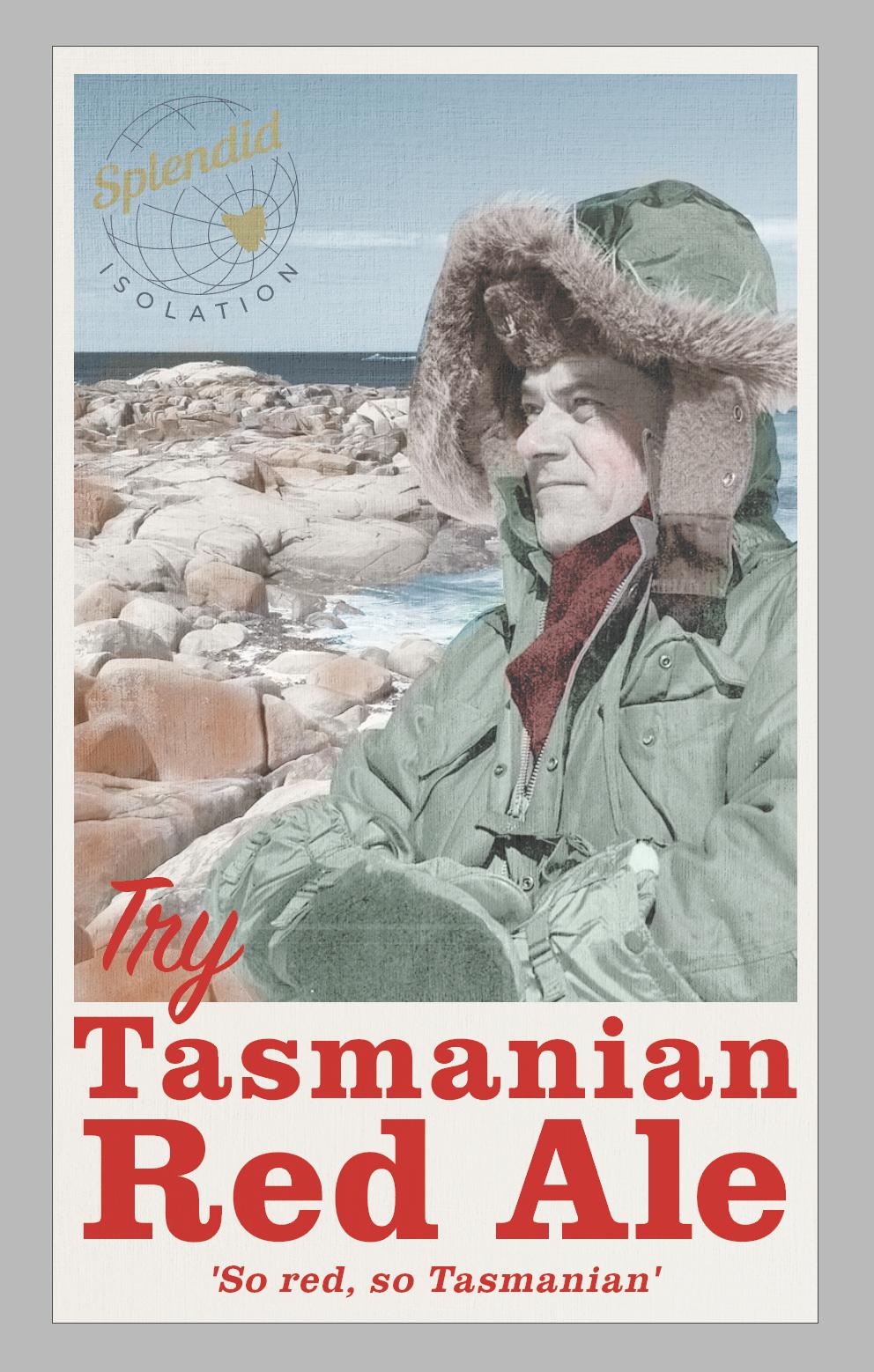 Tasmanian Red Ale — Splendid Isolation, craft beer from Hobart, Tasmanai