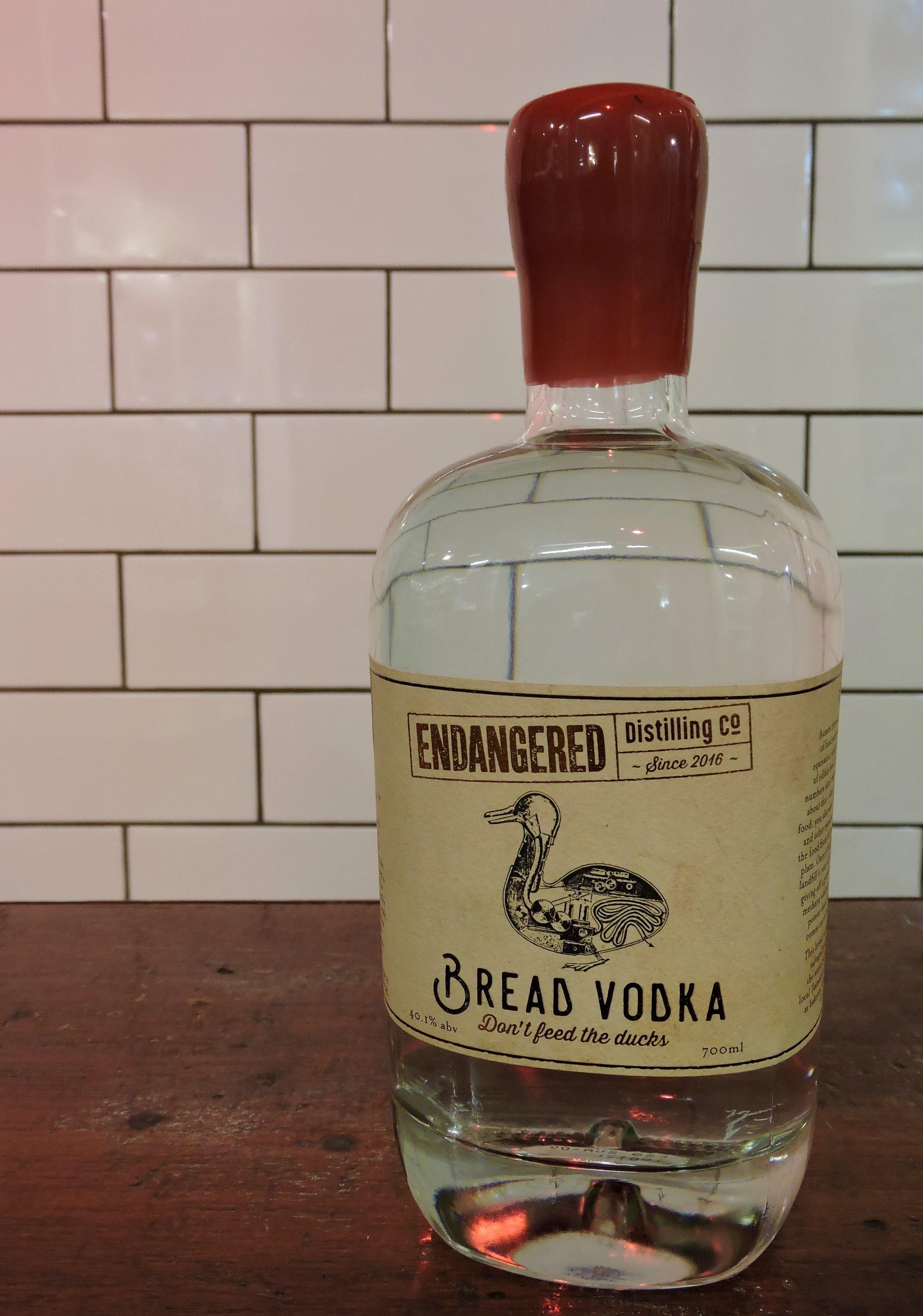 Don'd Feed the Ducks Bread Vodka — Endangered Distilling Co.