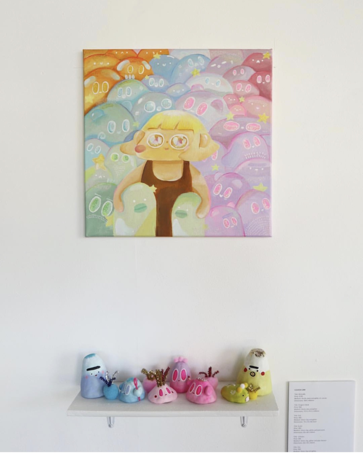 Mutually -  for a group show called 'Symbiosis' exhibited at Perth's City Art Space.