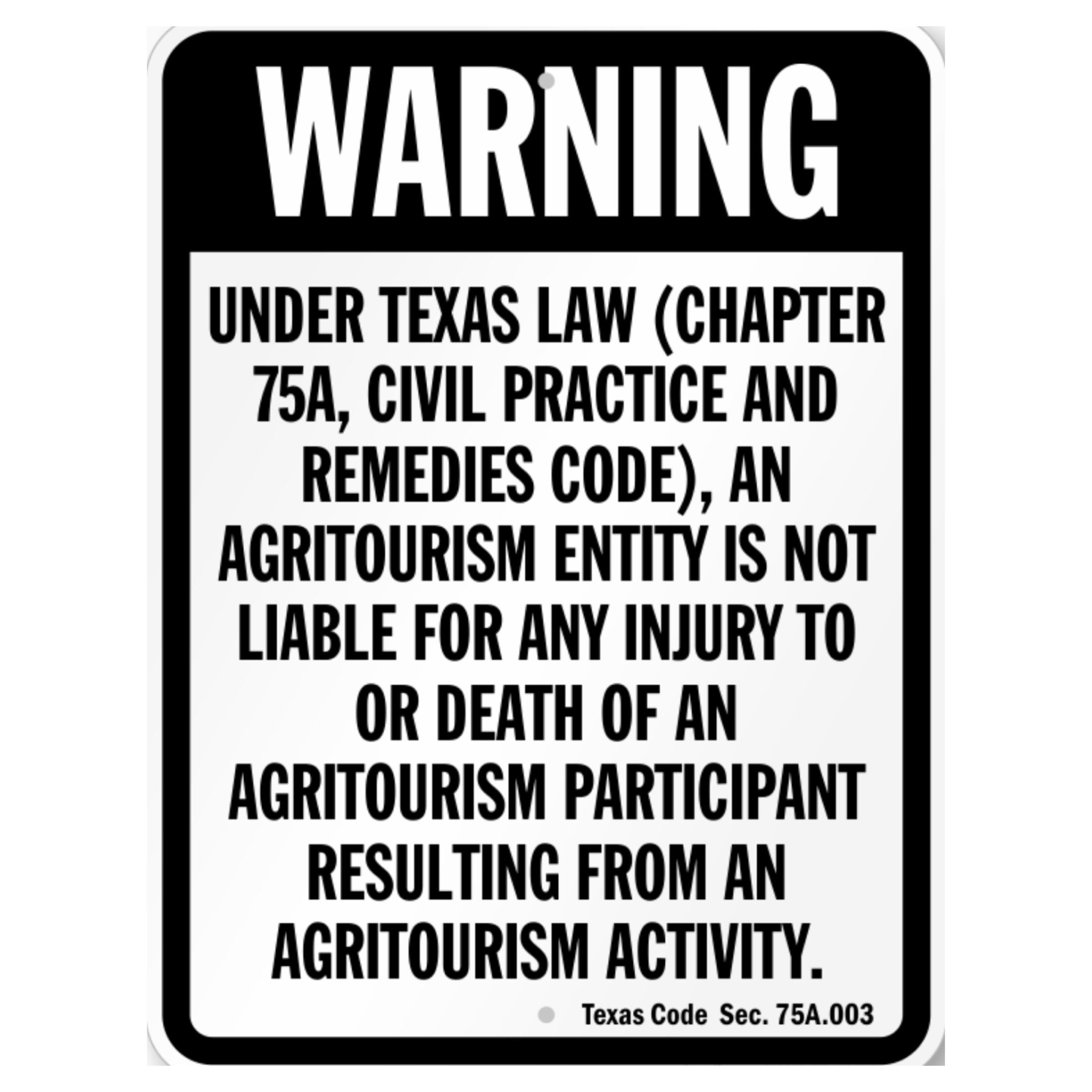 Texas Agritourism Notice.JPG