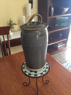 Thrown Jar by Ellen