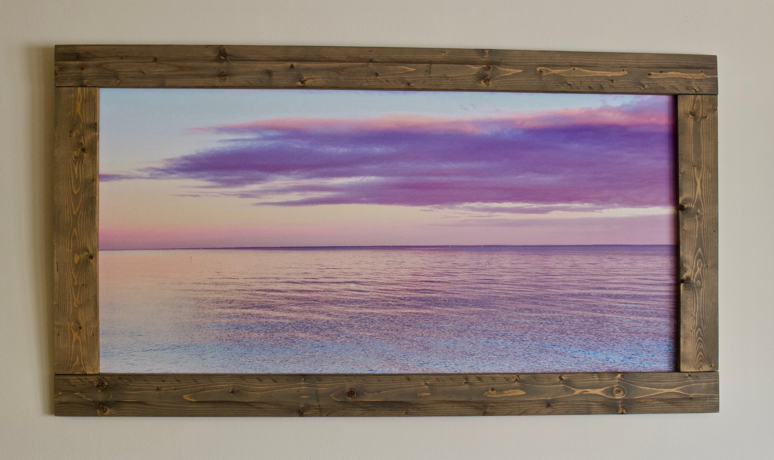 Cotton Candy Skies Over Sherwood Island State Park (48x20)