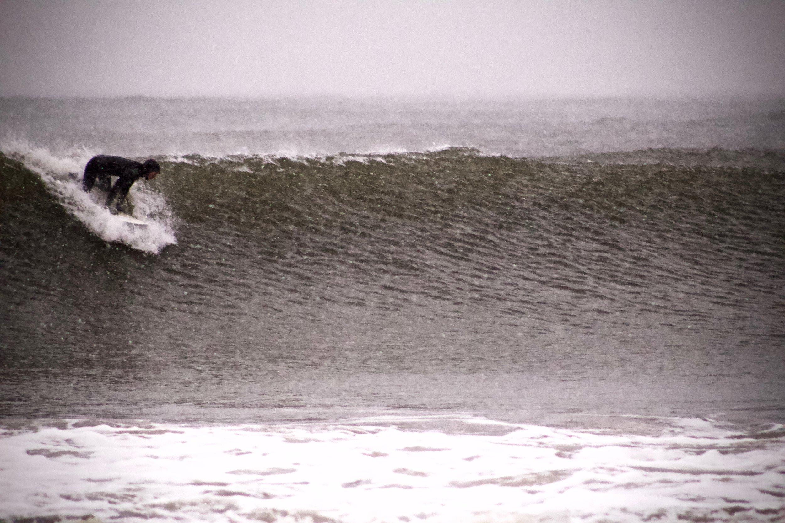 Snow & Waves (Long Beach)