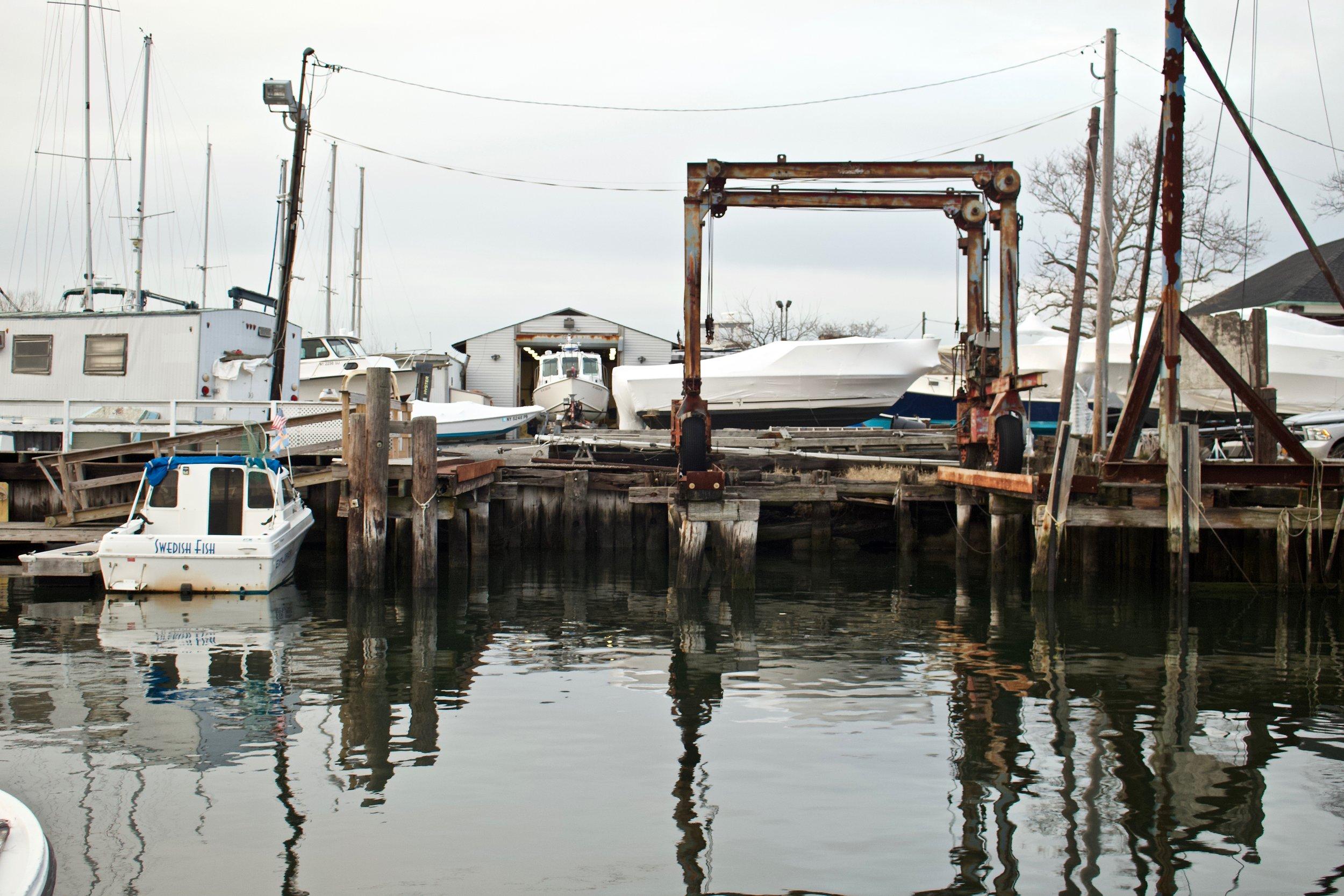 Marina 59 (Rockaway Beach) Reflection