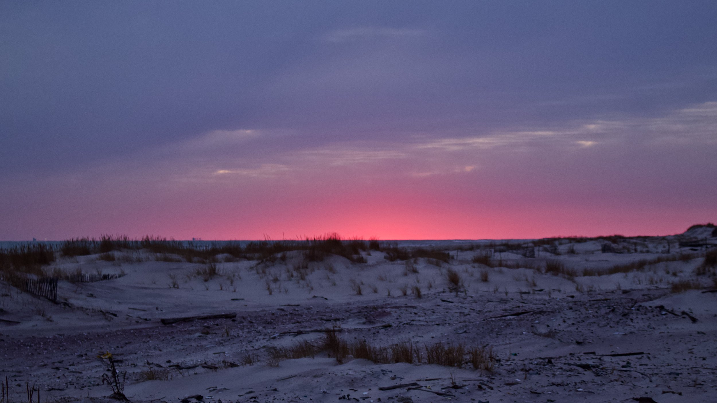 Cotton Candy Sky in the Dunes @ Jones Beach State Park