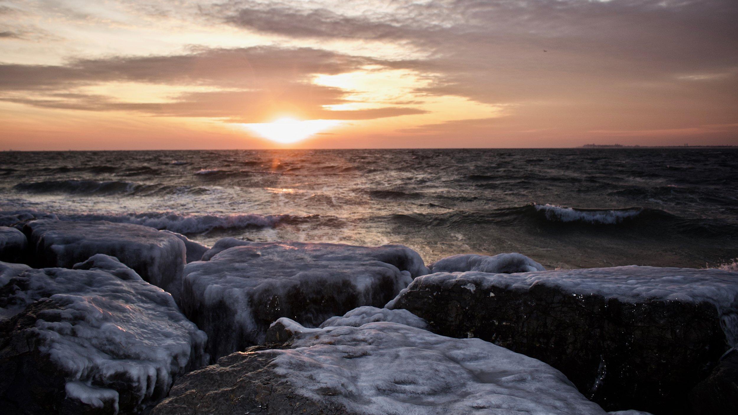 Icy Shores @ Jones Beach State Park