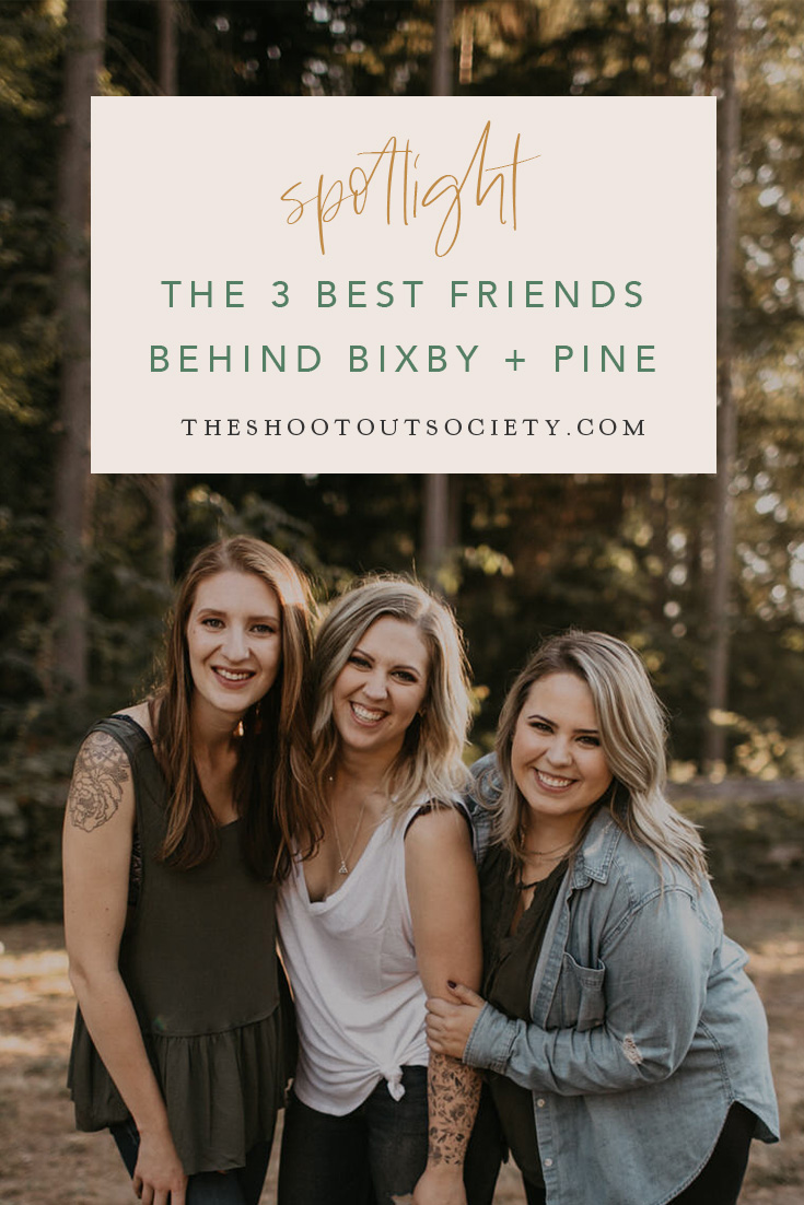 The 3 Best Friends Behind Bixby + Pine