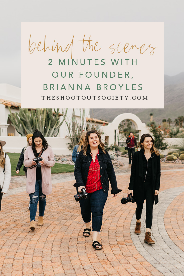 2 Minutes With Our Founder, Brianna Broyles