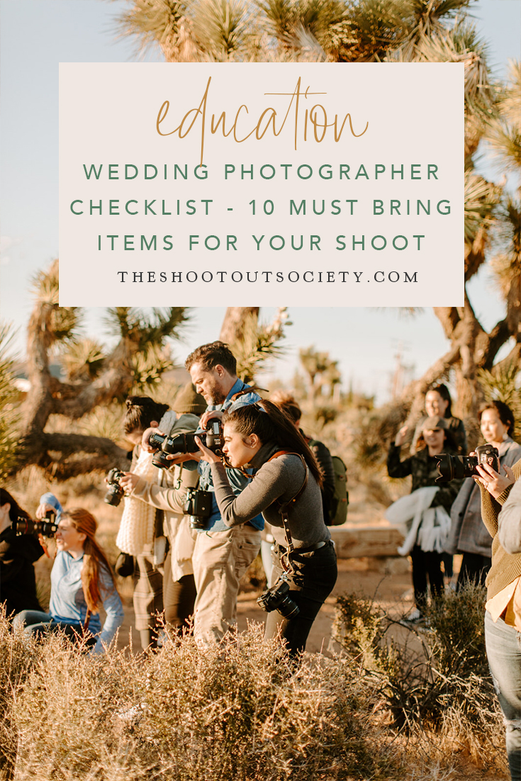 Wedding Photographer Checklist - 10 Must Bring Items For Your Shoot